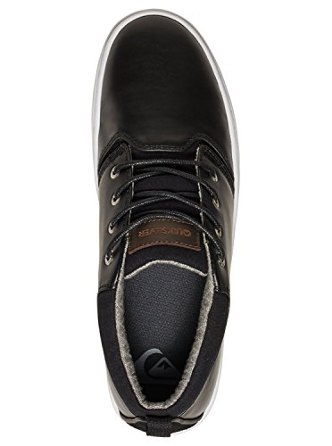 Quiksilver Griffin, Espadrille Homme Multi-Couleurs - Black/Brown/White