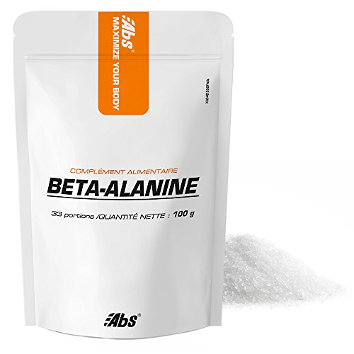 BETA-ALANIN * 33 portionen / Pulver 100 g * Wirkt intrazellulär, als Antioxidans, verbessert die Leistung und anaerobe Kapazität * 100% Zufriedenheit oder Geld zurück * Hergestellt in Frankreich