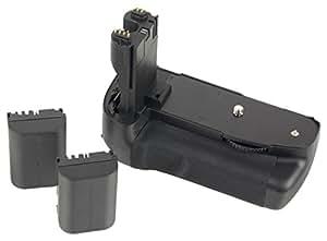Batterie grip pour Canon EOS 7D, LP-E6 Lot de 2