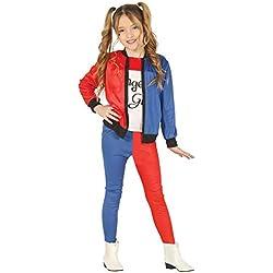Magic Box Disfraz de Suicidio Harley Quinn para niños Small 3-4 Years