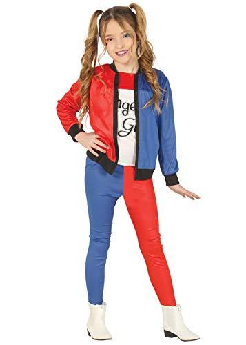 Kind Box Kostüm - Magic Box Int. Kinder Suicide Harley Quinn Stil Kostüm Small 3-4 Years