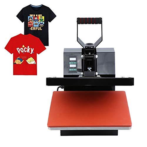 Ridgeyard Professionale pressa a caldo per magliette sublimazione macchina 38cm x 38cm 0-250℃ heat press 220V