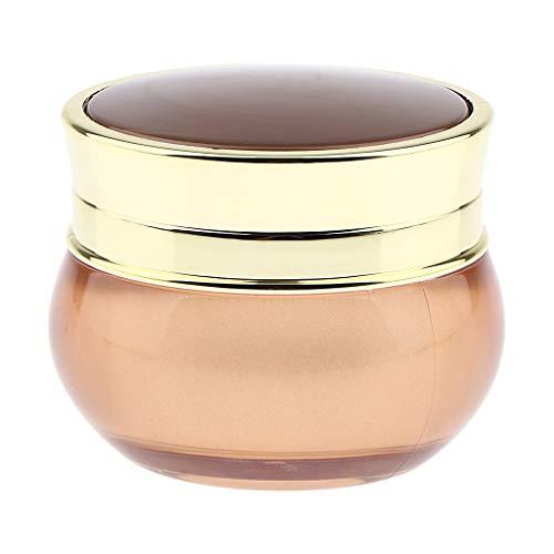 IPOTCH Vides Vide Pots Cosmétiques Récipient de Acrylique Pot Bouteilles Stockage de Maquillage Avec Capuchon Portable Pour Voyage - 50g