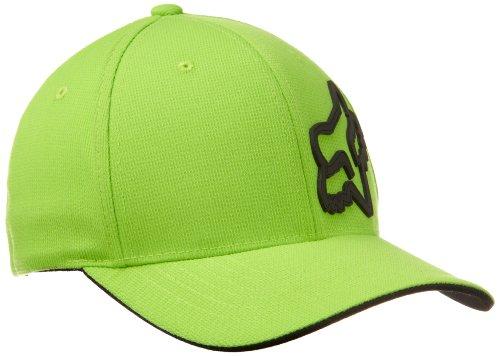 Preisvergleich Produktbild Fox Herren Cap Signature FlexFit, Green, L/XL, 68073-004