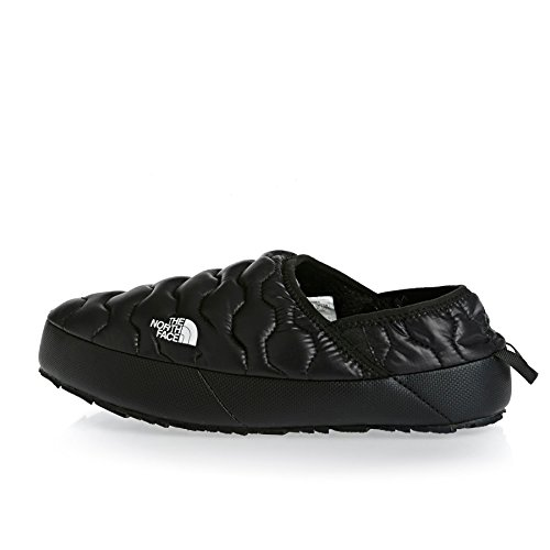 Le Mens North Face Thermoball Traction Mule IV Shiny Black