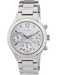 Guess Damen-Armbanduhr Chronograph Quarz Edelstahl W0323L1