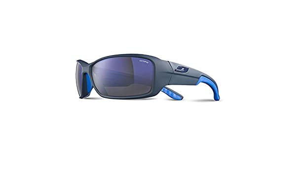 Julbo Run Unisex Adult Sunglasses Matt Black Blue  Amazon.co.uk  Sports    Outdoors 3db4e40f3668