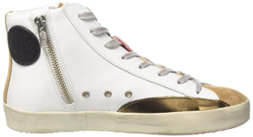 Ishikawa High Sneaker Collo Ishikawa Unisex Adulto a High Alto Bianco qOqw6xBS