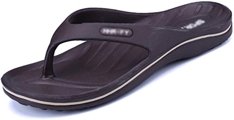 Sommer Herren Hausschuhe Bad Rutschfeste Flip Flops Gummi Soft Sohle Massage Sandalen Strand Schuhe Meer