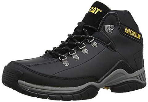 CAT Footwear Collateral Hiker, Men's High Rise Hiking Shoes, Black, 10 UK (44 EU)