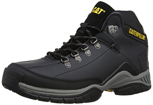 Cat Footwear - Scarpe modello Chukka, Uomo, Nero (Schwarz (MENS BLACK)), 43