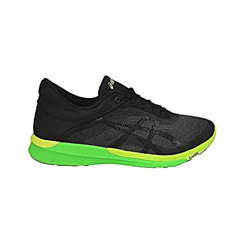 Asics fuzeX Rush T718N-9790 Herren, Schwarz Schwarz (Carbon/black/safety Yellow)