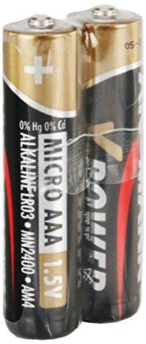 ANSMANN 5015671 Micro X-Power Alkaline Batterien rot