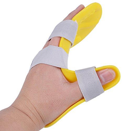 Dedo tabla de entrenamiento, risingmed diapasón Stroke hemiplegia espasmo diapasón tren dedo punto ortopédicas Stroke rehabilitación equipo médico mano férula formación apoyo para ambas manos