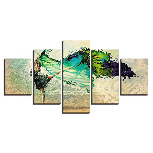 erin dekorative Malerei, Leinwanddruck Wandkunst moderne dekorative Malerei, Foto - mit Rahmen, moderne Dekoration Print Dekor für Home Office ()