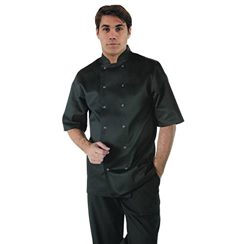 Whites Chefs Apparel A439-XS Vegas Chef Jacket, Short Sleeve ...