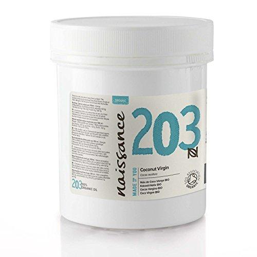 Naissance olio di cocco vergine biologico - olio vegetale puro al 100% - 100g
