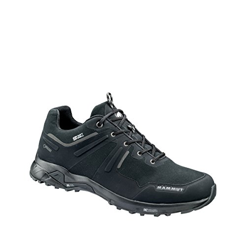 Mammut Herren Trekking- & Wander-Schuh Ultimate Pro Low GTX®, Schwarz (Black), EU 44 2/3