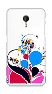 Amez designer printed 3d premium high quality back case cover for LeEco Letv Le Pro (Patterns colorful bright notes treble)