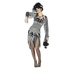 Atosa 26661 Disfraz novia zombie adulto XS-S, talla mujer