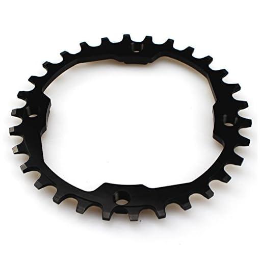Corona 30T 104BCD Fomtor 30Td BMX MTB Fixie della bicicletta (nero)