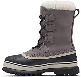 Sorel Women's Caribou Winter Boots, Grey (Shale/Stone), 5 UK 38 EU (B0031MAHUC) | Amazon price tracker / tracking, Amazon price history charts, Amazon price watches, Amazon price drop alerts
