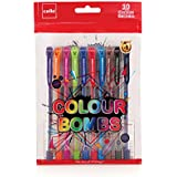 Cello Colour Bombs - 10pc Coloured Ink Gel pens, assorted (CEL1009369)