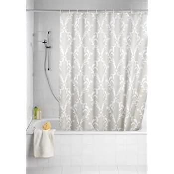 wenko 20060100 anti schimmel duschvorhang nature anti bakteriell waschbar mit 12. Black Bedroom Furniture Sets. Home Design Ideas