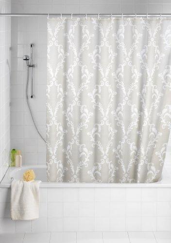 Rideau de douche en tissu