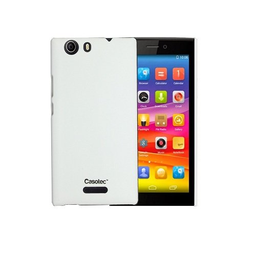 Casotec Ultra Slim Hard Shell Back Case Cover for Micromax Canvas Nitro 2 E311 - White  available at amazon for Rs.149