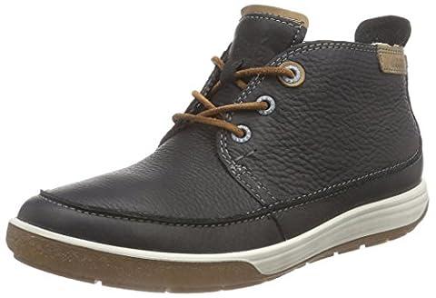 Ecco ECCO CHASE II, Damen Chukka Boots, Schwarz (BLACK/WHISKY58774), 39 EU (6 Damen UK)