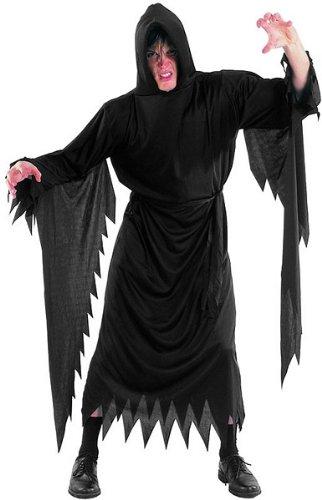 Dämonen Horror Scream Kutte Halloween Karneval Party Kostüm Erwachsene unisize (passend bis ca 1,85 Meter / 85 Kilo inklusive Gürtel