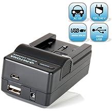 Für GoPro Hero3 und Hero3+ Akku Ladegerät 4 in 1 für GoPro AHDBT-301 AHDBT-302 von Bundlestar -- NEUHEIT mit Micro USB Anschluss -- passend zu -- GoPro Hero3 Hero 3 Hero3+ Black, White & Silver Edition