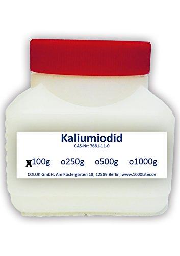 Kaliumiodid 100g Kaliumjodid KI2 - für lugolsche Lösung Pharmaqualität