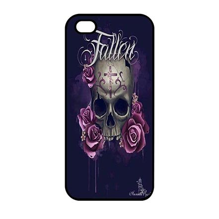 Plastic Protector Case for iPhone 5 iPhone 5S iPhone SE, Skull Pattern Ultra Thin Cell Phone Casing For Boys