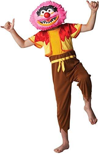 Fancy Me Jungen Mädchen Offiziell Disney Deluxe Die Muppets 1960s Jahre 1970s Jahre Cartoon Film Halloween Buch Tag Woche Kostüm Kleid Outfit - Animal, 7-8 ()