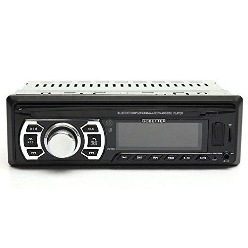 HITSAN Bluetooth Car Stereo FM Transimittervs Radio AUX Input In Dash SD MMC USB MP3 Player Head Unit One Piece