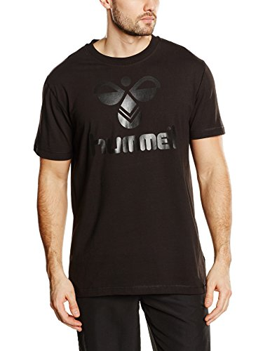 Hummel Herren T-Shirt Classic Bee Cotton Tee, Black, L, 08-467-2042