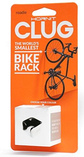 CLUG Clugswhbk, Supporto per Bicicletta, Bianco/Nero, 23–32mm