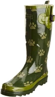 Padders Women's Ellie Wellington Boots, Green/Pale, 3 UK