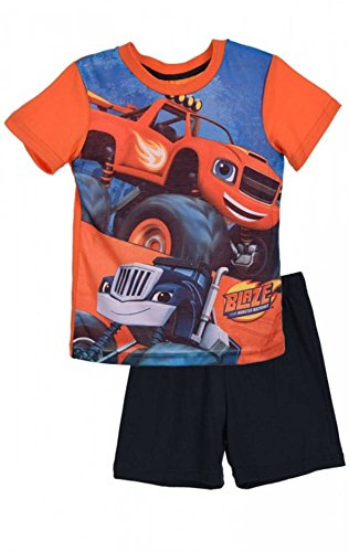 Boys Official Licensed Blaze and the Monster Machine Short Pyjamas Age 3 to 8 Years