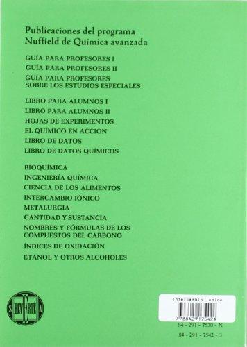 Intercambio iónico (Química avanzada Nuffield)