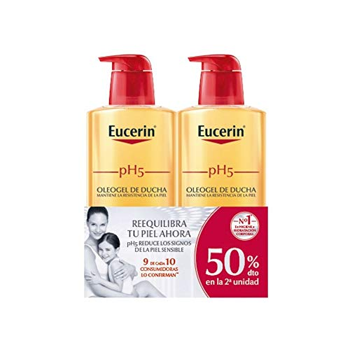 Eucerin Family Pack Ph5 Oleogel Ducha 1000 ml oleogel