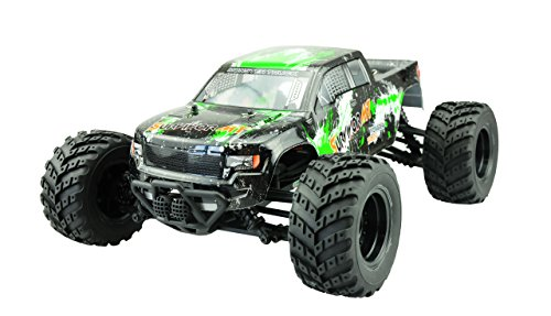Amewi 22209 AMX Racing EVO 4M 4WD Monster Truck 1:12, Mehrfarbig (Rc Monster Truck 4x4)
