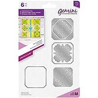 Gemini die-create-a-card-swirls Patchwork, silber, verschiedene