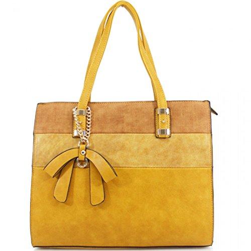 Elegant Fashions - Sacchetto Ragazza donna Unisex, neonati Yellow