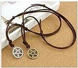 Pagan und Wicca Halskette & Armband Dual-Nutzung - Dean Winchester, Supernatural, Pentagramm, Pentagramm, Star Armband, schließt man