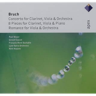 Bruch : Works for Clarinet & Viola  -  Apex