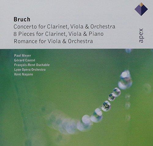 Bruch : Works for Clarinet & Viola  -  Apex