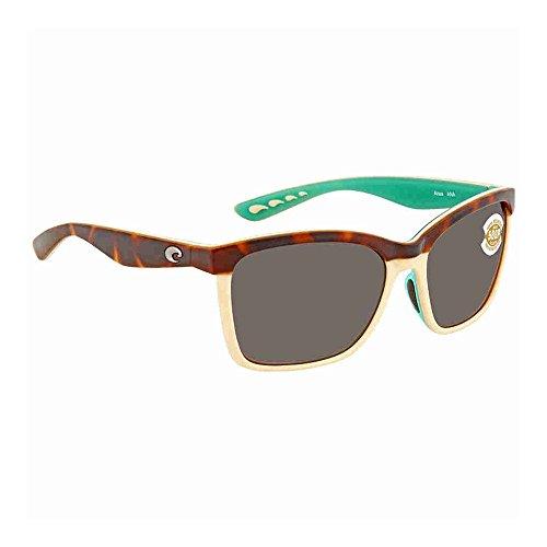 New Costa del Mar anaa 105Retro deliktrechts/creme/mint Sonnenbrille für Damen, Silber, ANA105OSCP